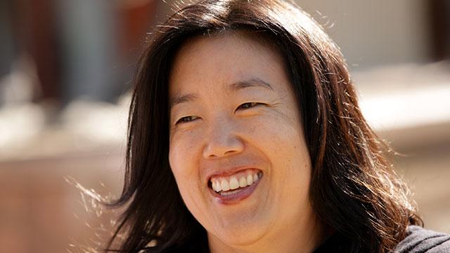 Michelle Rhee, former chancellor of the Washington D.C. public school system,in Sun Valley, Idaho, 2011.