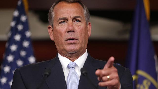PHOTO:Boehner