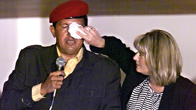 PHOTO: Hugo Chavez and his wife, Marisabel.