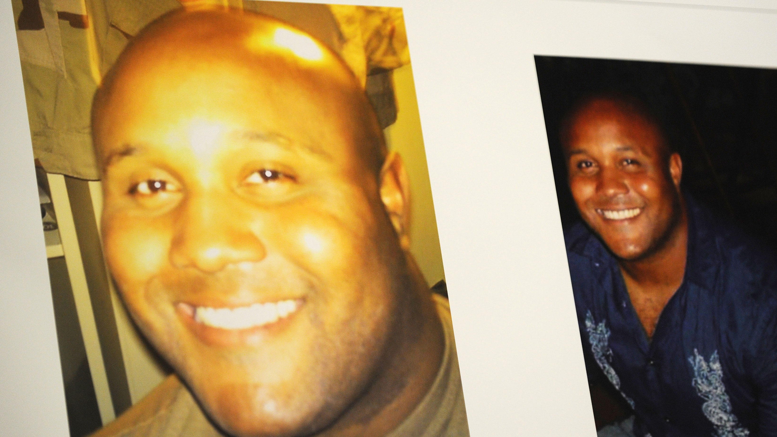 PHOTO: Images used during a press conference on the manhunt for ex-LAPD cop Christopher Dorner.