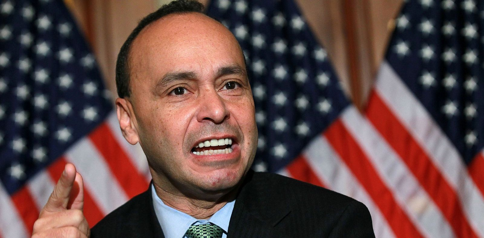 PHOTO: U.S. Rep. Luis Gutierrez (D-IL) speaks during a news conference on the Development, Relief and Education for Alien Minors Act on Capitol Hill December 8, 2010 in Washington, DC.