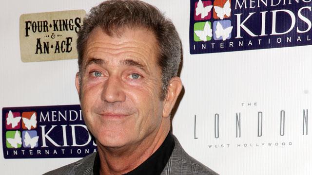 PHOTO:Actor Mel Gibson