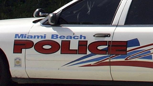 PHOTO:Miami Beach Police Squad Car
