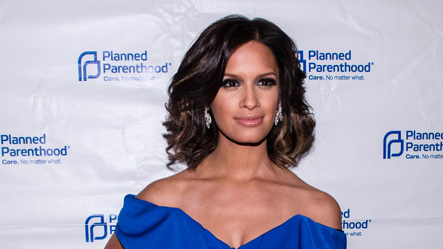 PHOTO: Rocsi Diaz poses for a photo during the Planned Parenthood annual gala at the Marriott Wardman Park Hotel on April 25, 2013 in Washington, DC.