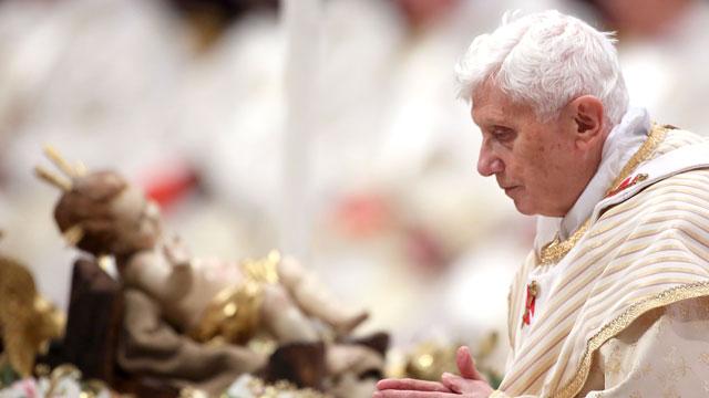 PHOTO:As Pope Benedict XVI steps down, rumors and theories swirl.