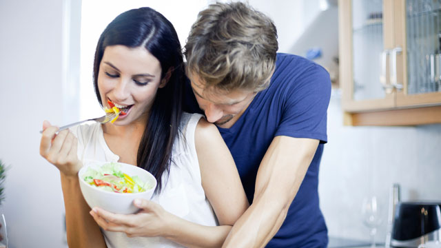 PHOTO: Typical millennial salad eaters