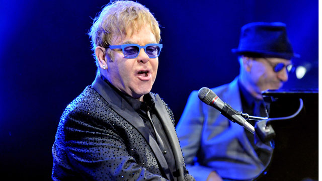PHOTO: Elton John performing during the 2013 Carnegie Hall Medal of Excellence Gala on June 13, 2013 in NYC.