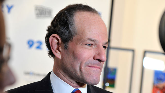 PHOTO: Eliot Spitzer attends A Special Night Of Comedy Benefiting Victims Of Hurricane Sandy at 92nd Street Y on December 10, 2012 in New York City.