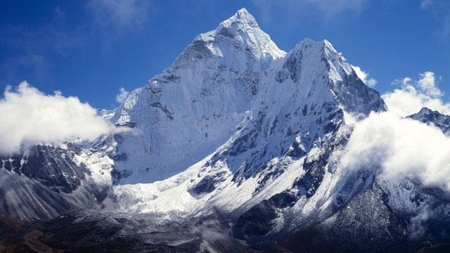 PHOTO:Ama Dablam, Nepal.