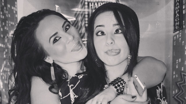 PHOTO:Becky G and mom