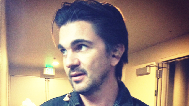 PHOTO: Juanes kicked off his summer tour in Bakersfield, California on May 17, 2013.