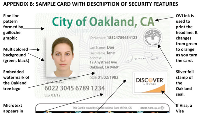 PHOTO:A sample identification card that the City of Los Angeles will consider offering to residents, regardless of their immigration status.