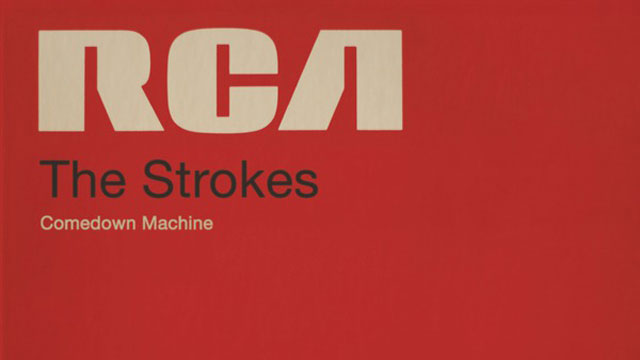 PHOTO: The cover for The Strokes new album Comedown Machine.