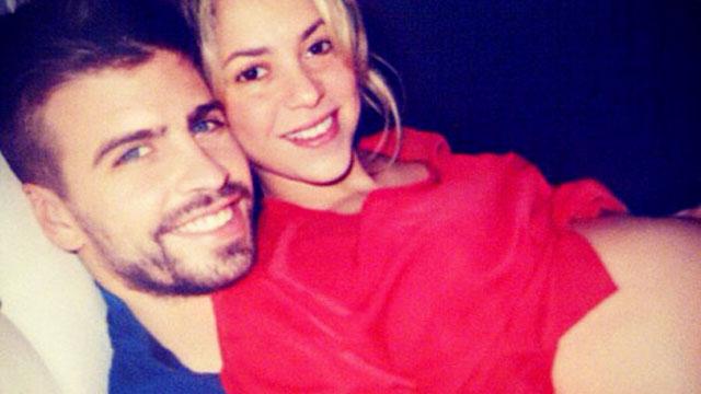 PHOTO:Shakira pregnant belly