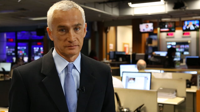 Jorge Ramos at the newsroom in Univision. He shares his reasons on why he votes.