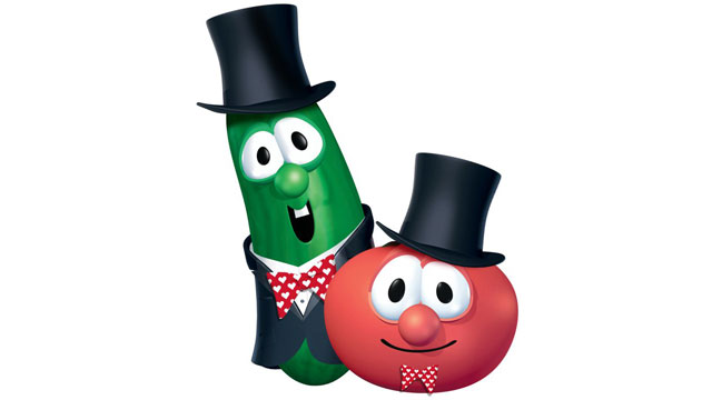 PHOTO:Christian cartoon VeggieTales.