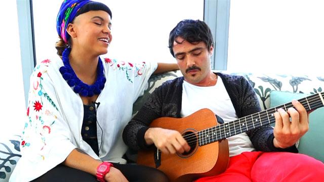PHOTO:Bomba Estereo performing at SoHo House in Miami, Fl.