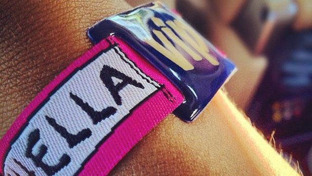 PHOTO:A Coachella VIP wristband.