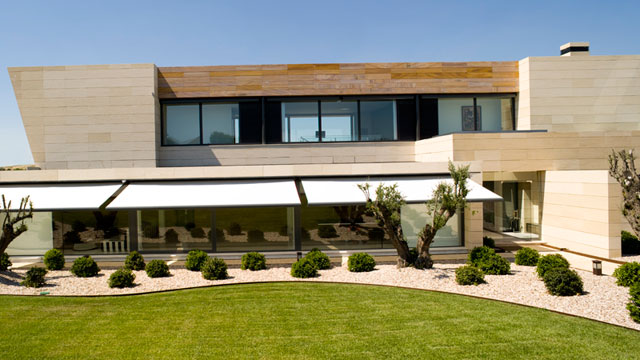Alejandro Sanz' home designed by Joaquín Torres