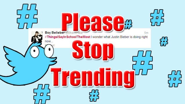 PHOTO: Please Stop Trending series: #ThingsISayinSchoolTheMost