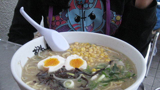 "PHOTO: ""Sorta spicy Japanese ramen has become a new family fave out West,"" says Mamita Mala."