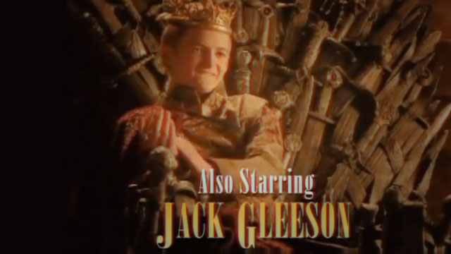 PHOTO: A clip from a 'Game Of Thrones' parody ad.