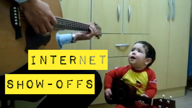 PHOTO:Internet Show-Offs: Toddlers singing on YouTube