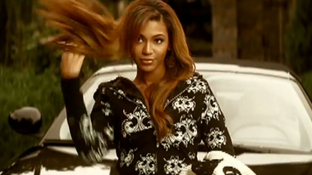 "PHOTO: Screenshot of Beyonce's ""Irreplaceable"" music video."