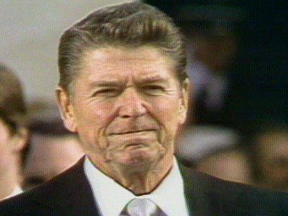VIDEO: Ronald Reagan Inauguration