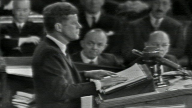 VIDEO: John F Kennedy State of the Union