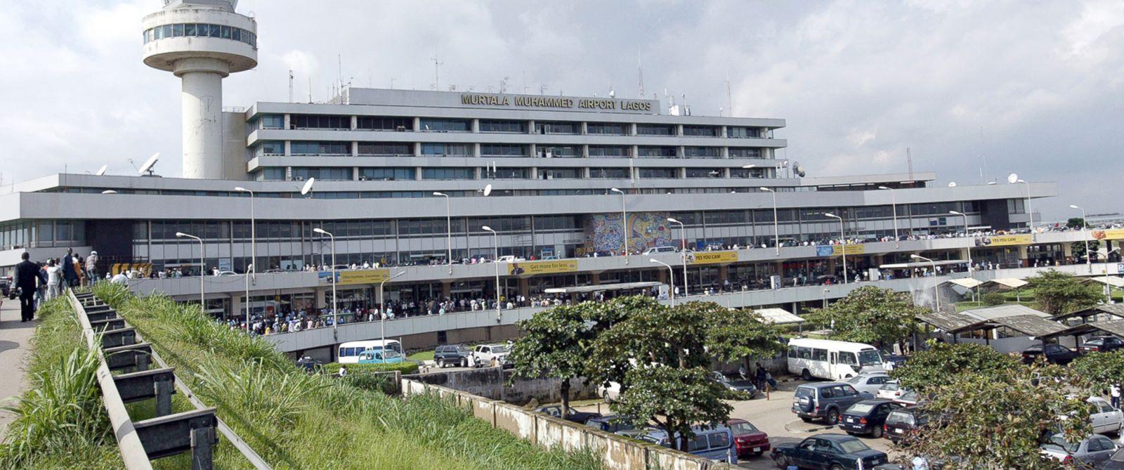 PHOTO: Murtala Muhammed International Airport in Lagos, Nigeria, Sept. 11, 2007.