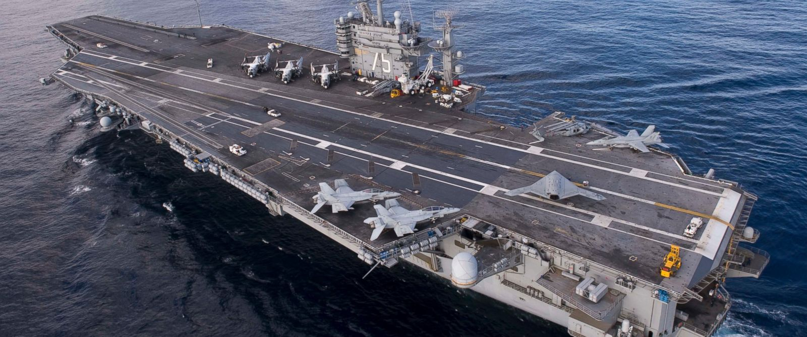 PHOTO: The USS Harry S. Truman is pictured on Dec. 9, 2012 in the Atlantic Ocean.