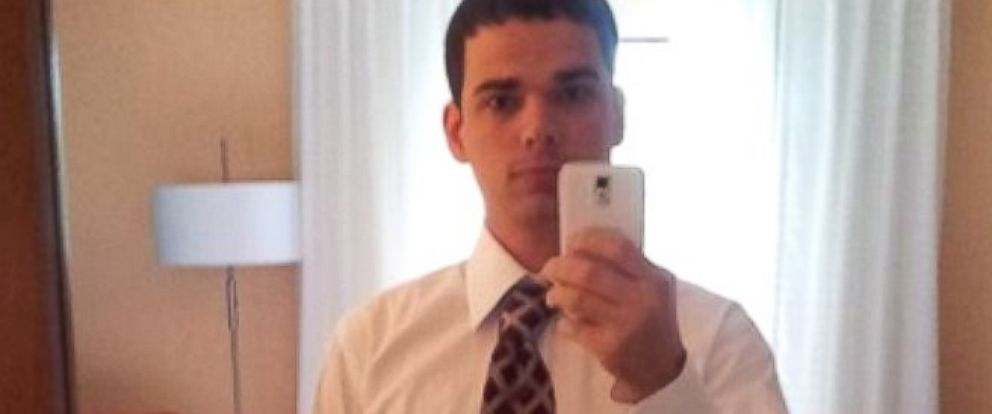 PHOTO: Former sailor Nicholas Knight stands accused of leading a hacker ring while he served in the Navy.