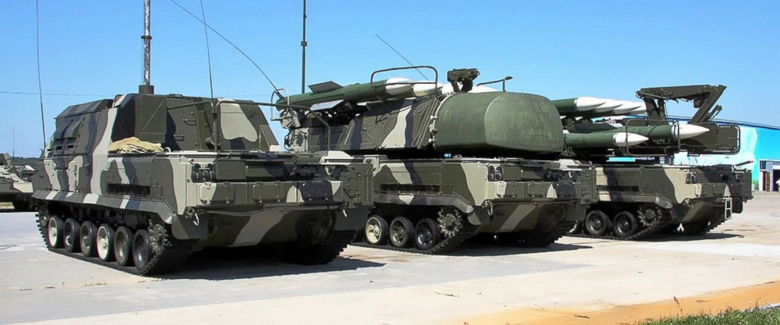 PHOTO: Buk-M1-2 air defence system in 2010.