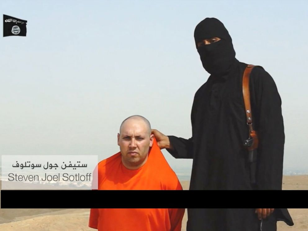 PHOTO: American Steven Sotloff is seen in a gruesome video posted online that earlier appears to show the murder of American journalist James Foley.