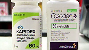 Photo: After reports of dispensing errors involving these two drugs with similar-sounding names, the Food and Drug Administration worked with pharmaceutical manufacturers to change the name of Kapidex.