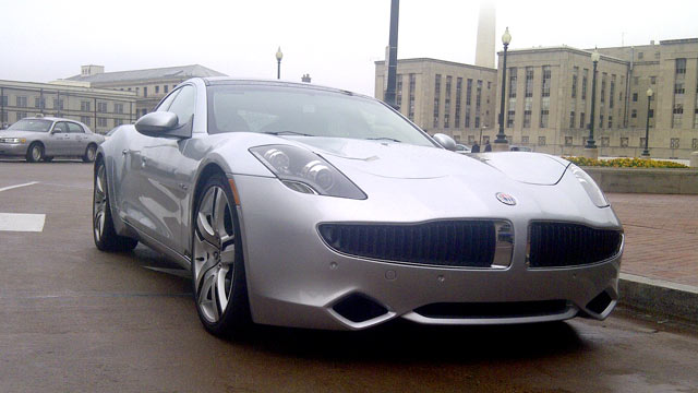 PHOTO:No other information other than the phrase Fiskers Car, - a mark Schone story.