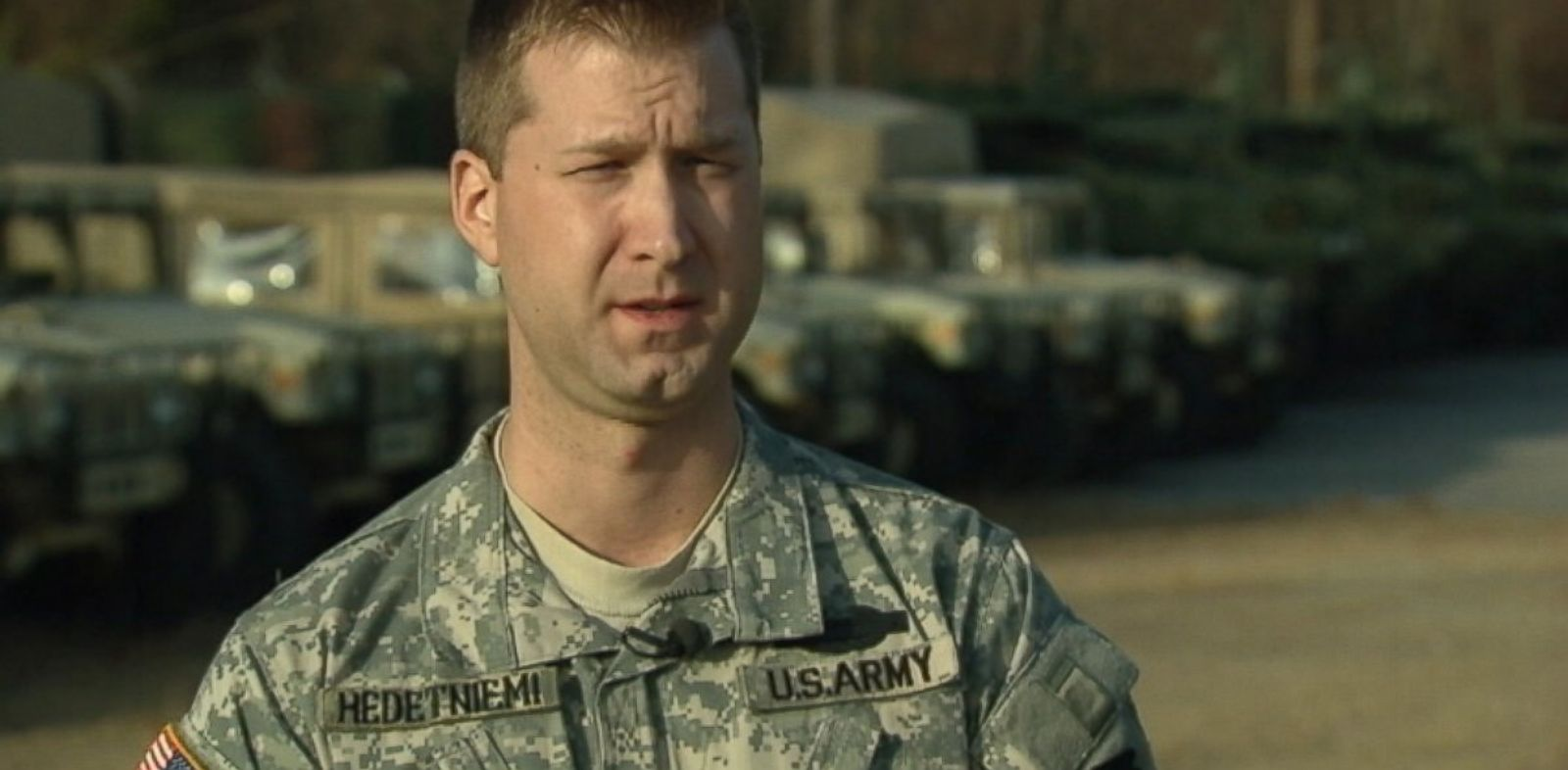 PHOTO: Josh Hedetniemi was serving with the Pennsylvania National Guard in Iraq in 2005 when four soldiers in his platoon were killed in an ambush.