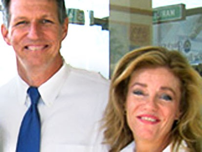 Pic: Congressman Tim Mahoney and his alleged former mistress, Patricia Allen