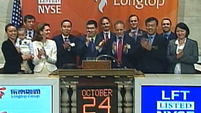 PHOTO: The New York Stock Exchange suspended trading of Longtop Financial last year, one of dozens of Chinese companies accused of fraud.