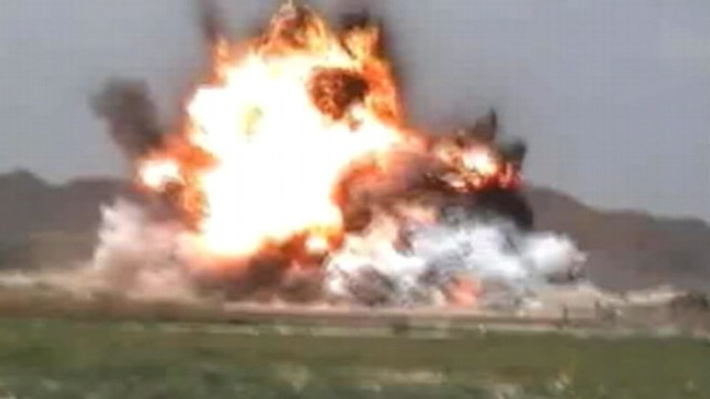 VIDEO: Militant group releases video of attack on U.S. base.