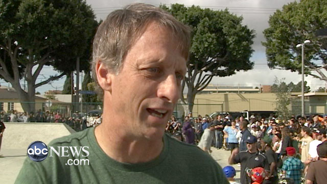 PHOTO: Skateboard star Tony Hawk said he and other celebrities who have licensed their names to clothing lines have a responsibility to insure people are not dying to make their garments.