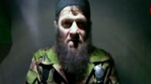 Emir Doku Umarov, a Chechen militant also known by the name Dokku Abu Usman, took responsibility for the Jan. 24, 2011, suicide bombing of Moscow?s Domodedovo Airport in a video statement released Monday, Feb. 7, 2011.