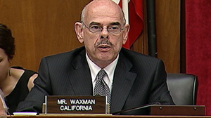 Rep. Henry Waxman, D.-Calif., questioned Toyota?s research into sudden unintended acceleration during a hearing on Capitol Hill Thursday, May 20, 2010.a