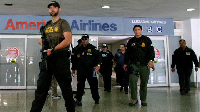 drug bust at dfw airport