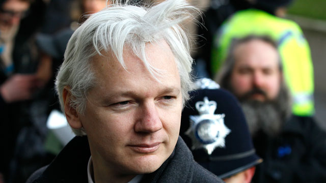 PHOTO: On June 19, 2012, Ecuadors Foreign Minister Ricardo Patino announced in Quito that Julian Assange is seeking asylum at Ecuadors embassy in London, and that Ecuadors government is studying the request.