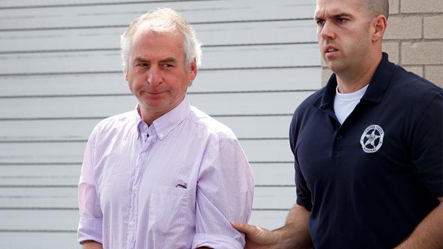 PHOTO: Paul Douglas Peters and U.S. Marshal