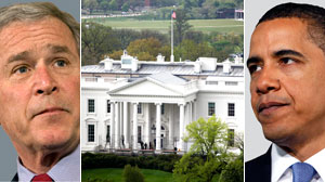 Like George Bush, President Barack Obama?s White House says its key support office is exempt from federal disclosure law.