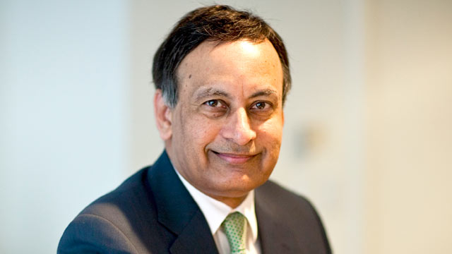 PHOTO: Husain Haqqani, Pakistans ambassador to the U.S., poses for a photograph during an interview in Washington, D.C., U.S., Jan. 11, 2011.