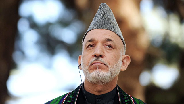 PHOTO: Afghan President Hamid Karzai